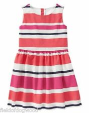 NWT Gymboree CIAO PUPPY Girls Size 6,8,10,12 Striped Sleeveless Dress
