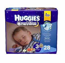 HUGGIES OverNites Diapers, Jumbo Pack No.1 Selling Nighttime Diaper Choose Size