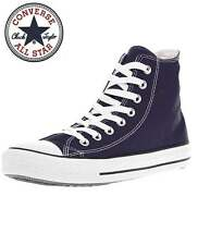 Converse Mens Navy Blue Chuck Taylor All Star Classic Hi Tops Shoes Trainers