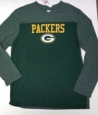 GREEN BAY PACKERS TEAM NFL AUTHENTIC LONG SLEEVE MENS SIZE LARGE