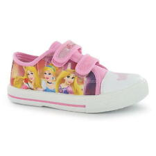 Disney Princess Shoes Size 20-32 Leisure Sneakers trainers Canvas pink new