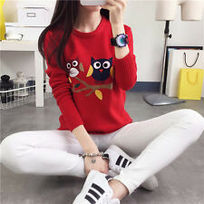 Autumn winter Korean fashion lovely loose knitted sweater coat