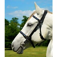HORSE   Size  ENGLISH BRIDLE & REINS made from BETA BIOTHANE (with BLING)