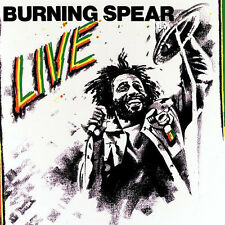 BURNING SPEAR LIVE VINYL LP RECORD 12""