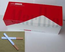 NEW Marlboro Red King size cigarette tubes, 23mm filter like rizla Make your own