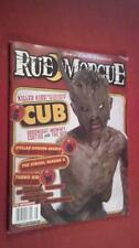 Rue Morgue August 2015 Issue #158 Horror in Culture & Entertainment Magazine