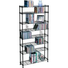 Multimedia Storage Rack (8 shelves)