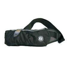 Mustang Inflatable Belt Pack PFD - Black/Carbon