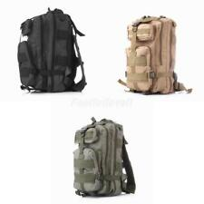 25L Waterproof Nylon Travel Camping Bag Army Military Tactical Rucksack Backpack