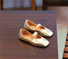 2206 Boutique Comfy Golden Flats Easy Match Very Soft