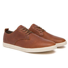 New Clae Ellington - Chestnut Oiled Leather