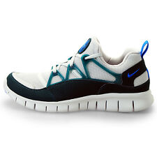 Mens Nike Free Run Huarache Light Running Sneakers Gray Atomic 555440 043