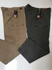 ROUNDTREE & YORKE MEN'S  STRAIGHT FIT DUTY RATED UTILITY CARGO PANTS NWT $59.50