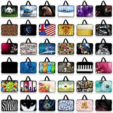"""10"""" Laptop Netbook Bag Case Sleeve Cover Pouch For HP Mini 110 210 +Hide Handle"""