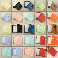 EXQUISITE GIFT PRESENT PACKAGE BOXES CASE FOR BANGLE JEWELRY WATCH STUDS BOX 1C