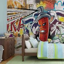 WALL MURAL PHOTO WALLPAPER XXL Graffiti Street Art (1395WS)