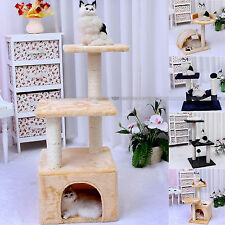 Cat Tree Cat Tower Climbing Tree Scratching Post Condo Furniture House Furniture