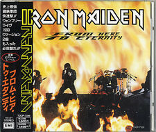 """From Here To Eternity Iron Maiden CD single (CD5 / 5"""") Japanese TOCP-7356 EMI"""