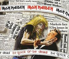 """Iron Maiden Be Quick Or Be Dead UK CD single (CD5 / 5"""") CDEM229 EMI 1992"""