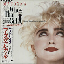 Madonna Who's That Girl vinyl LP album record Japanese P-13544 SIRE 1987
