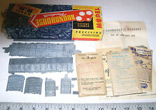 Vintage Roundhouse ALL Metal HO Train Car Kit: PB-E J & F 40-Ft AAR Box Car Kit