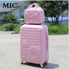 """New 20""""24""""28"""" Hello Kitty Suitcase Sets, Women Luggage Travel Bag wheel Trolley"""
