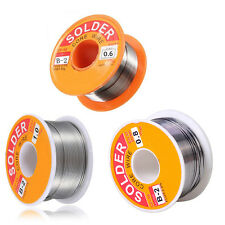 Tin Lead Rosin Core Solder Flux Soldering Welding Iron Wire Reel 0.6/0.8/1.0 mm
