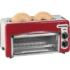 Hamilton Beach Toastation 2-in-1 2-Slice Toaster & Oven 22703 Auto Shutoff