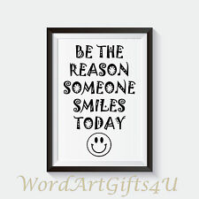 Inspirational Quote Positive Life Poster Picture Print Wall Art