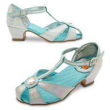 NWT DISNEY STORE Frozen Anna and Elsa Dress Shoes Party 8 9 10 11 13 1