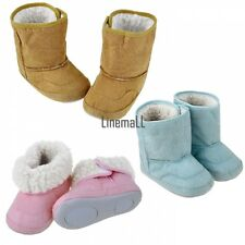 Baby Infant Toddler Boys Girls Warm Winter Fur Snow Shoes Boots 9-24 Month LM