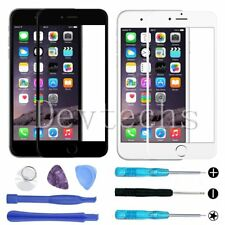 Front Outer Screen Lens Glass Replacement for Apple iPhone 6S 6/Repair Tools Kit
