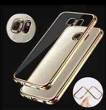ShockProof Silicone TPU Rubber Clear Slim Case Cover For Samsung Galaxy Models