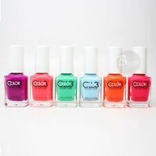 Color Club Nail Polish Poptastic Pastel Neon Collection N7-N13 2015 Summer Hot