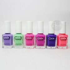 Color Club Nail Polish Poptastic Pastel Neon Collection N20-N25 Summer Hot 2015