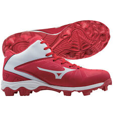 Mizuno Mens 9-Spike Advanced Franchise 8 Mid Molded Cleats