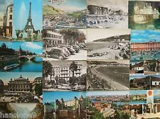 Postcards - FRANCE - PARIS - CALAIS - TOULOUSE - LOURDES - LOIRE VALLEY - MENTON