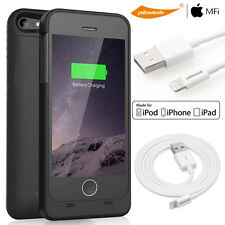 iPhone SE/5S/5-Lightweight&Compact Mobile Protective Battery Case+Lightning Cord