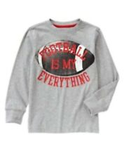 GYMBOREE FUN AT HEART Football is My Everything L/S TEE 4 5 6 7 8 10 NWT