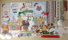 Over 50 Christmas Toppers & Embellishments Card Making Craft clear out Bargain,