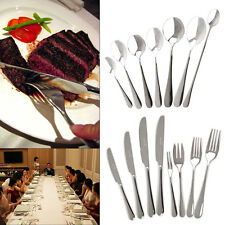 Coffee Tea Spoon Cutlery Dining Steak Knives Spoon Tableware Kitchen Stainless