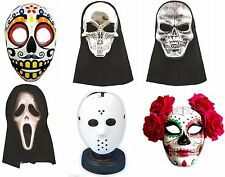 Halloween Party Fancy Dress Accessory Adult Assorted Mask and Hoods