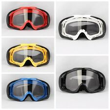 Off-Road Snowboard Snowmobile Ski Goggles Sunglasses Sports Glasses Clear Lens