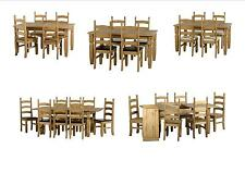 Seconique Corona Dining Tables, Sets, Chairs Benches - Solid Mexican Pine