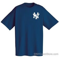 NY Yankees MLB T-Shirt (Navy) - New York City Baseball Replica Gift Tees