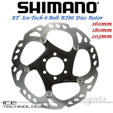 Shimano XT-Saint Ice-Tech 6-Bolt Brake Disc Rotor RT86 160 180 203mm Mountain
