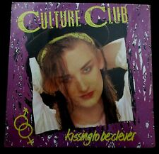 Culture Club Kissing to be Clever Boy George 1982 LP Record Album Sealed