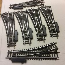 HORNBY OO SIX R612 LEFT HAND POINTS