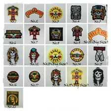 GUNS N ROSES Sew On Patch Embroidered Iron Rock Band Heavy Metal Music Badge