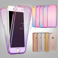 Fashion Shockproof 360° Silicone Protective Case Cover For Apple iPhone 6 6s 6sp